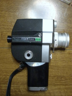 工作:8mmカメラの修理と撮影